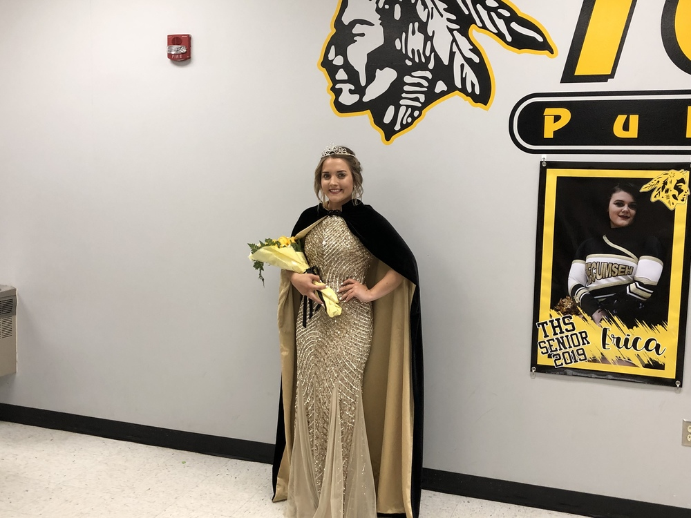 Scallorn named homecoming queen