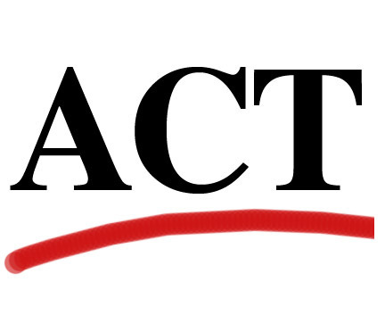 State mandated ACT will be given April 2-4