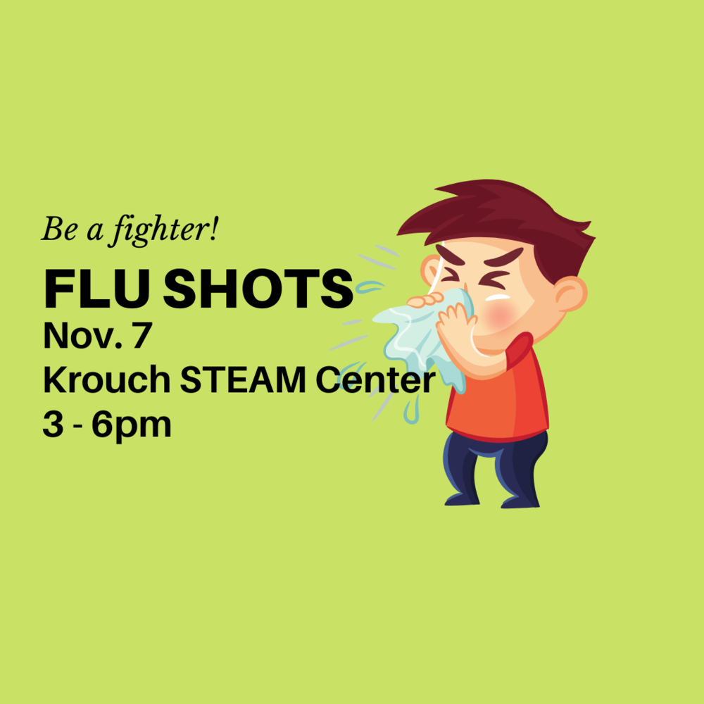 Flu Shot Clinic November 7