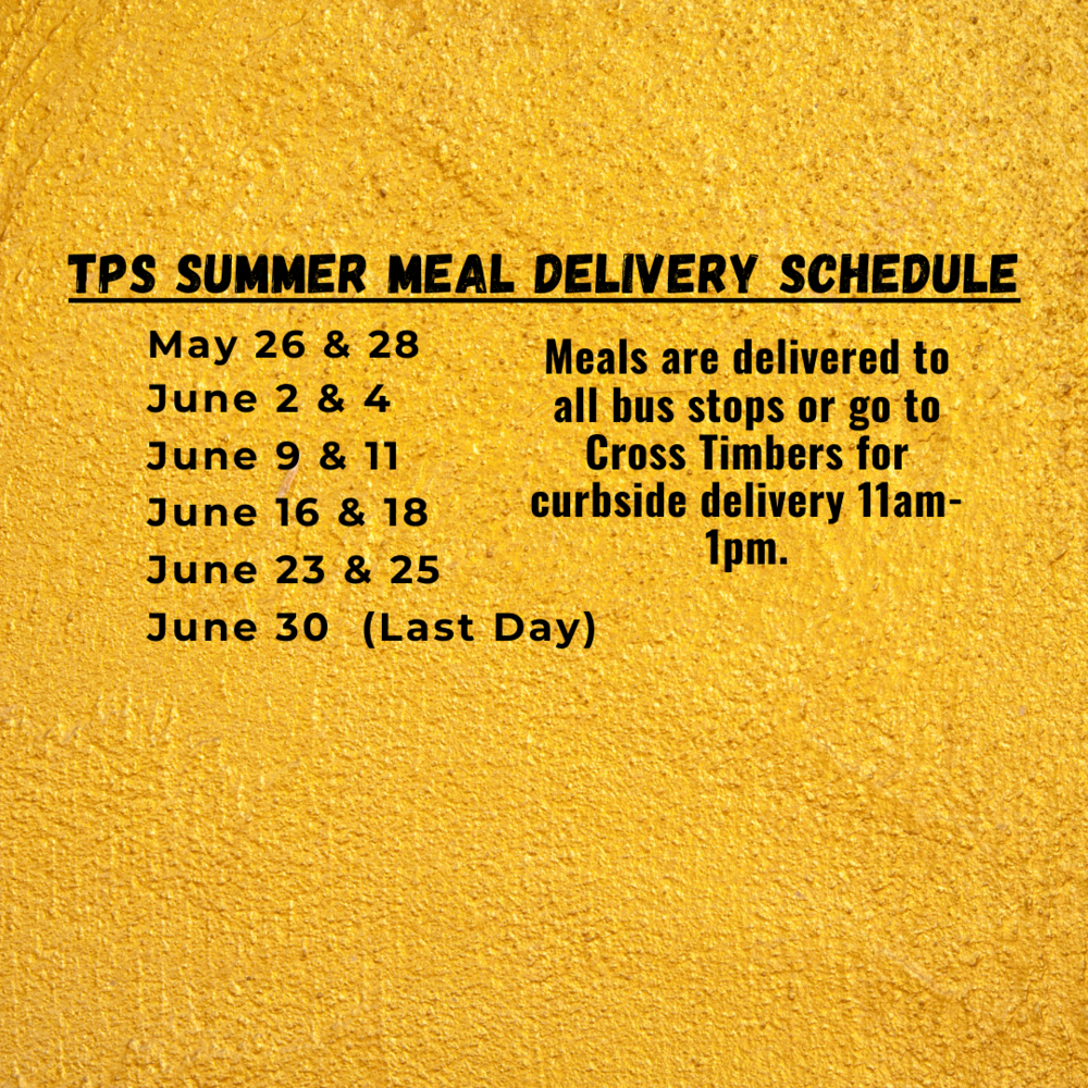 Meal delivery procedure changing
