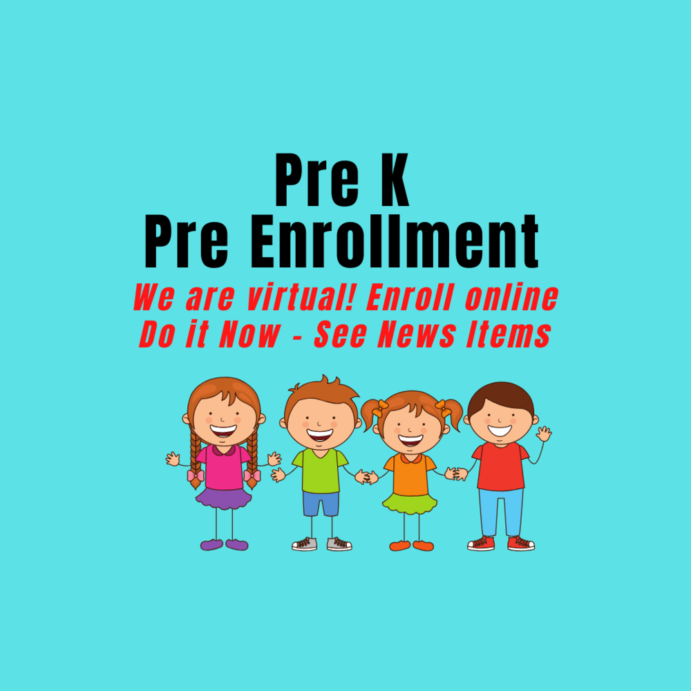 Pre K enrollment application is still open