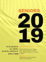Tecumseh Alumni Scholarships Available