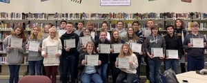 GCTC names STEM students at THS