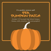 FFA to sell pumpkins