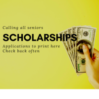 Scholarships will be available for qualified seniors