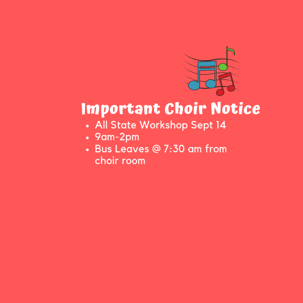choir notice