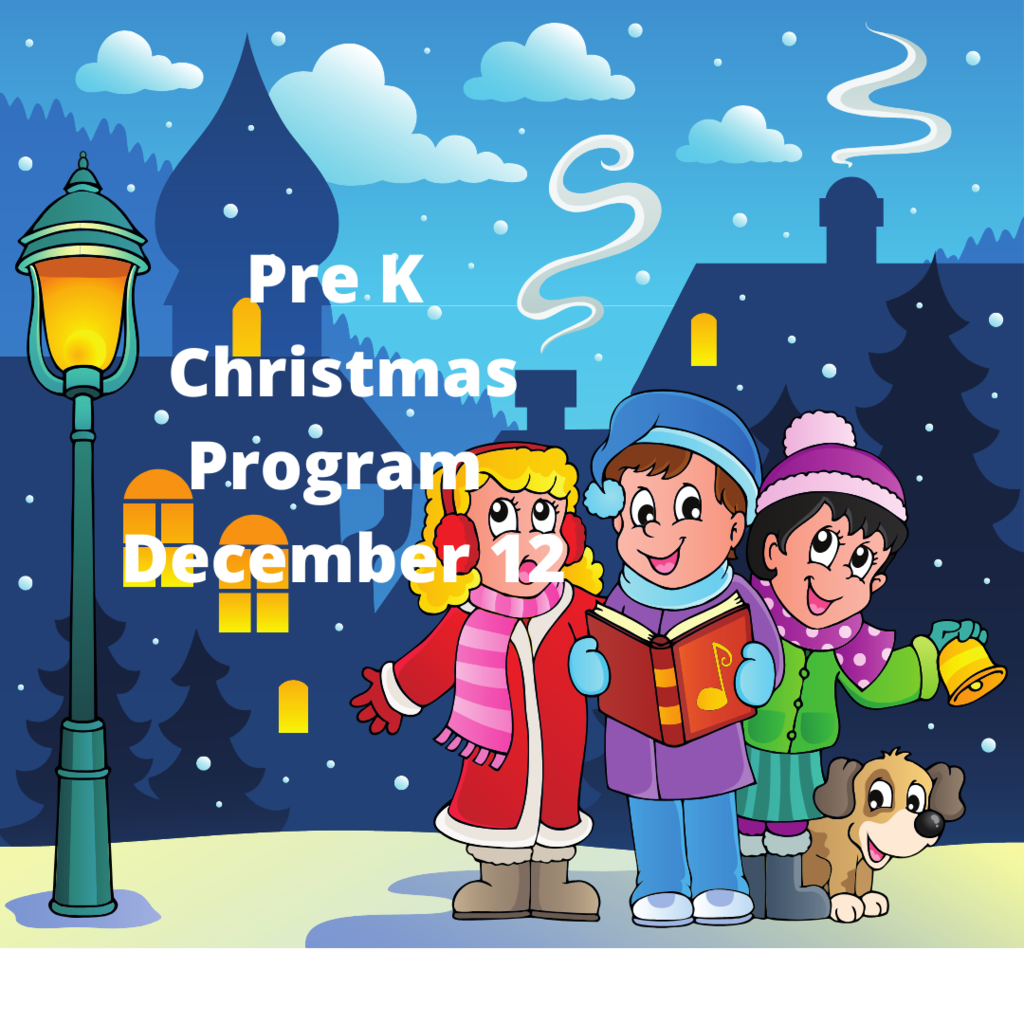 pre k christmas program