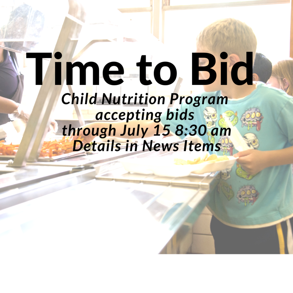 Child Nutrition Bids